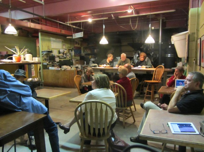 West Pine Laclede Neighborhood Association meeting